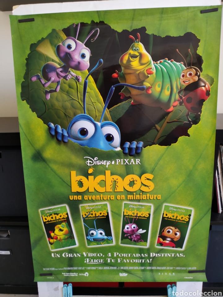 POSTER BICHOS VIDEO CLUB -ENROLLADO- (Cine - Posters y Carteles - Infantil)