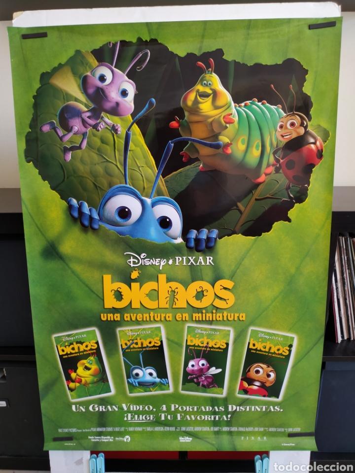 Cine: Poster BICHOS video club -enrollado- - Foto 2 - 165156878