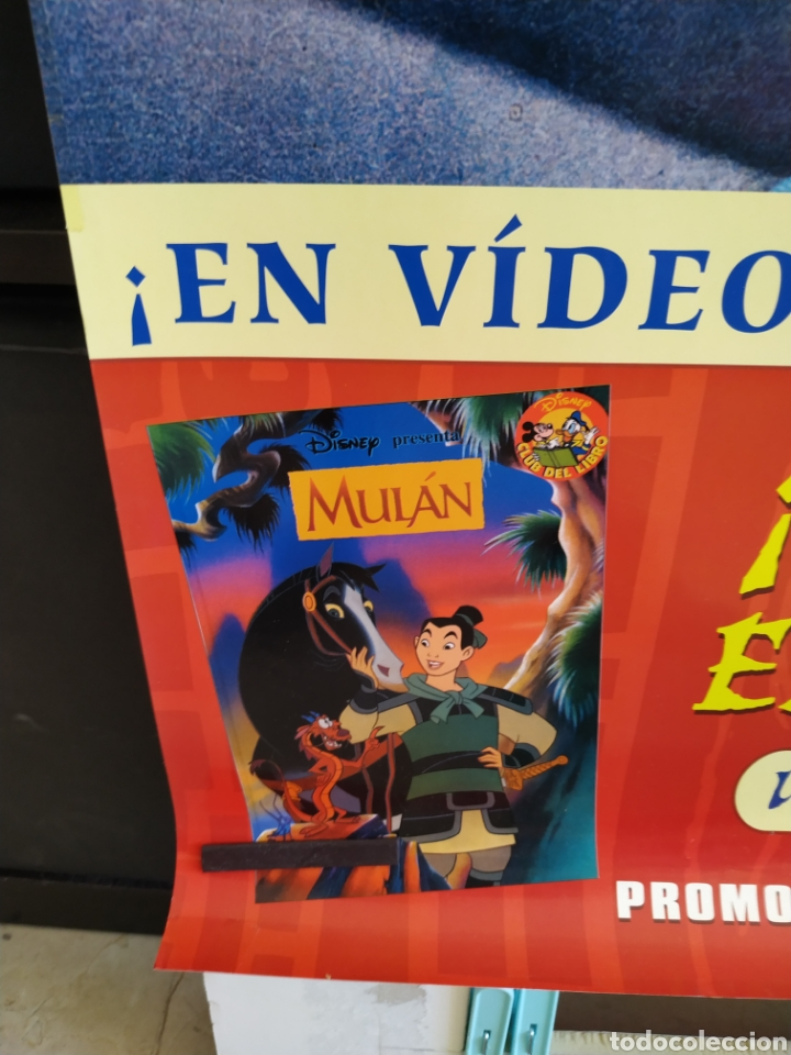 Cine: Poster MULAN - enrollado- 70x100 video club - Foto 4 - 165157593