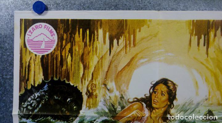Cine: La isla de los hombres peces. Barbara Bach, Claudio Cassinelli, Richard J. AÑO 1978 POSTER ORIGINAL - Foto 2 - 165210134
