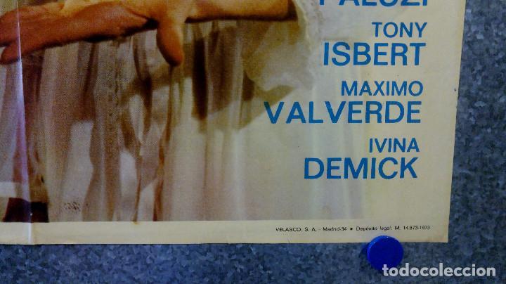 Cine: Trágica ceremonia en villa Alexander.Camile Keaton, José Calvo AÑO 1973. POSTER ORIGINAL - Foto 5 - 165224026