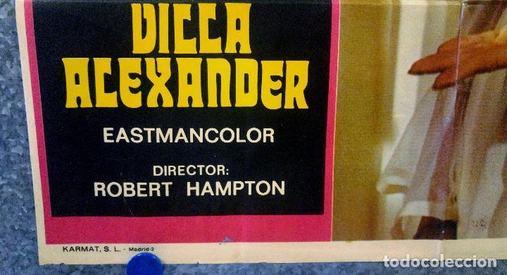Cine: Trágica ceremonia en villa Alexander.Camile Keaton, José Calvo AÑO 1973. POSTER ORIGINAL - Foto 6 - 165224026
