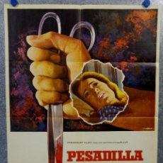 Cine: PESADILLA EN LA NIEVE. PATTY DUKE, RICHARD THOMAS, ROSEMARY MURPHY. AÑO 1973 POSTER ORIGINAL. Lote 165231190