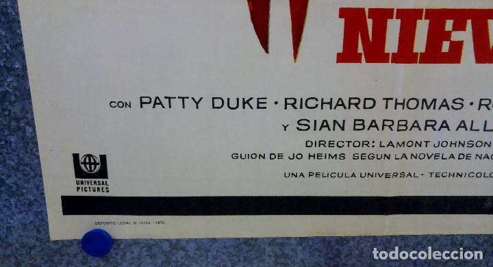 Cine: PESADILLA EN LA NIEVE. PATTY DUKE, RICHARD THOMAS, ROSEMARY MURPHY. AÑO 1973 POSTER ORIGINAL - Foto 6 - 165231190