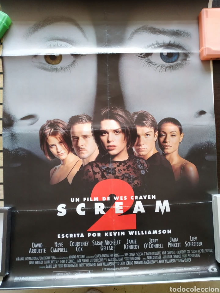 Cine: Cartel Scream 2 -doblado- 70x100 - Foto 1 - 165473108