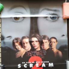 Cine: CARTEL SCREAM 2 -DOBLADO- 70X100. Lote 165473108