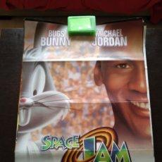 Cine: POSTER SPACE JAM -DOBLADO- 70X100. Lote 165474440