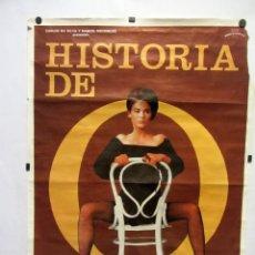 Cine: HISTORIA DE O. (II PARTE). CARTEL PROMOCIONAL DE LA PELÍCULA, 1984. 69X100CMS.. Lote 165492318