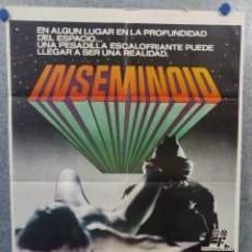Cine: INSEMINOID. ROBIN CLARKE, JENNIFER ASHLEY, STEPHANIE BEACHAM. AÑO 1982 POSTER ORIGINAL. Lote 187148095