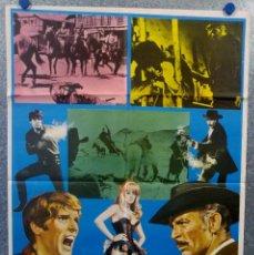 Cinéma: EL DÍA DE LA IRA. LEE VAN CLEEF, GIULIANO GEMMA, WALTER RILLA AÑO 1977 POSTER ORIGINAL. Lote 165517266