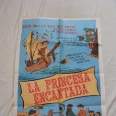 Cine: CARTEL CINE LA PRINCESA ENCANTADA 70 X 100. Lote 165607674