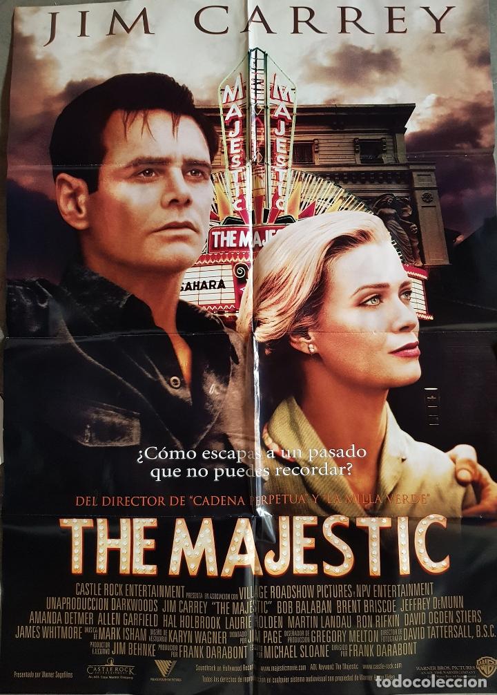 THE MAJESTIC - ORIGINAL. DARABONT FRANK (DIRECTOR) 2002. JIM CARREY (Cine - Posters y Carteles - Comedia)