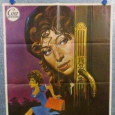 Cine: TERESA, LA LADRONA. MONICA VITTI, STEFANO SATTA FLORES AÑO 1974. POSTER ORIGINAL. Lote 165661426