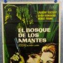 Cine: EL BOSQUE DE LOS AMANTES. LAURENT TERZIEFF, ERIKA REMBERG, HORST FRANK AÑO 1962 POSTER ORIGINAL. Lote 165662230