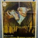 Cine: CUMBRES BORRASCOSAS. ANNA CALDER MARSHALL, TIMOTHY DALTON AÑO 1971 POSTER ORIGINAL. Lote 165665914