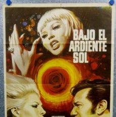 Cinéma: BAJO EL ARDIENTE SOL. JOAQUÍN CORDERO, CLAUDIA ISLAS, RAQUEL ERCOLE AÑO 1971 POSTER ORIGINAL. Lote 165666306