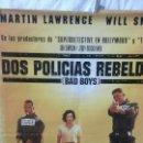 Cine: DOS POLICÍAS REBELDES ( TIENE PLIEGUES, ES ANTIGUO). Lote 165766830