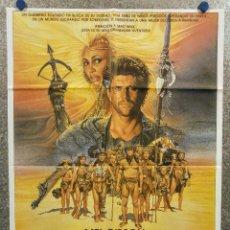 Cine: MAD MAX 3. MÁS ALLÁ DE LA CÚPULA DEL TRUENO. MEL GIBSON, TINA TURNER. AÑO 1985 - POSTER ORIGINAL. Lote 205349188