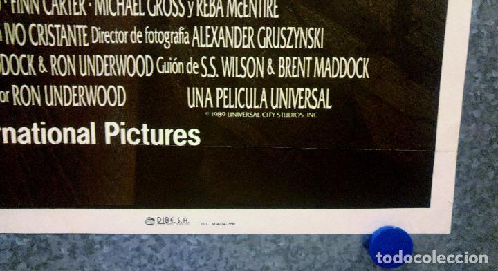 Cine: TEMBLORES. Kevin Bacon, Fred Ward. AÑO 1990. POSTER ORIGINAL - Foto 3 - 166175570
