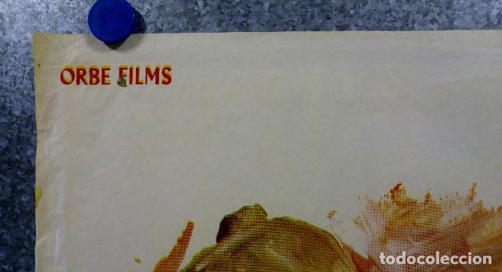 Cine: Y LES LLAMABAN SATANAS. JORGE RIVERO, REGINA TORNE. AÑO 1975. POSTER ORIGINAL - Foto 2 - 166181830