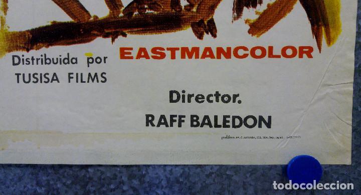 Cine: Y LES LLAMABAN SATANAS. JORGE RIVERO, REGINA TORNE. AÑO 1975. POSTER ORIGINAL - Foto 5 - 166181830