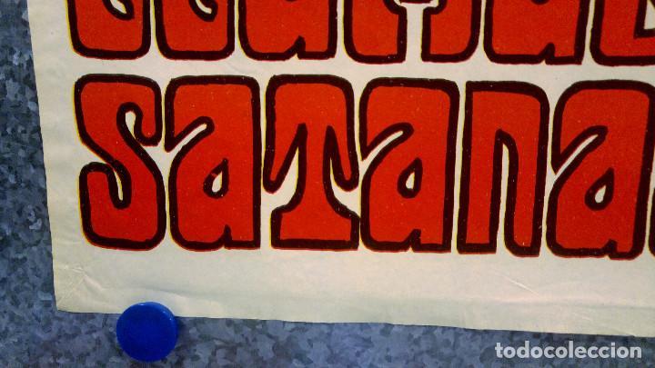Cine: Y LES LLAMABAN SATANAS. JORGE RIVERO, REGINA TORNE. AÑO 1975. POSTER ORIGINAL - Foto 6 - 166181830