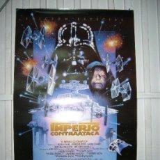 Cinéma: STAR WARS EL IMPERIO CONTRAATACA POSTER ORIGINAL 70X100 EDICION ESPECIAL. Lote 174034468
