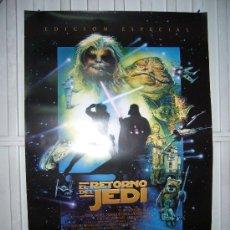 Cine: STAR WARS EL RETORNO DEL JEDI POSTER ORIGINAL 70X100 EDICION ESPECIAL. Lote 174034489