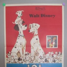 Cine: CARTEL CINE, 101 DALMATAS, WALT DISNEY, 1972, C1599. Lote 166406594