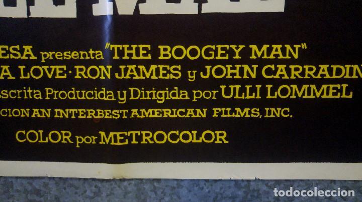 Cine: Satanás, el reflejo del mal. Suzanna Love, Ron James, John Carradine. AÑO 1981 POSTER ORIGINAL - Foto 7 - 166562958
