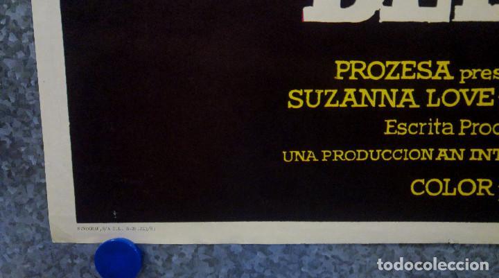 Cine: Satanás, el reflejo del mal. Suzanna Love, Ron James, John Carradine. AÑO 1981 POSTER ORIGINAL - Foto 8 - 166562958