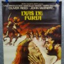 Cine: DÍAS DE FURIA. OLIVER REED, CLAUDIA CARDINALE, JOHN MCENERY. AÑO 1973. POSTER ORIGINAL. Lote 166810570