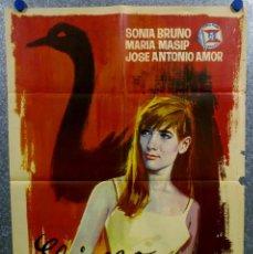 Cine: EL JUEGO DE LA OCA. SONIA BRUNO, MARÍA MASSIP, JOSÉ ANTONIO AMOR. AÑO 1966. POSTER ORIGINAL. Lote 166818654