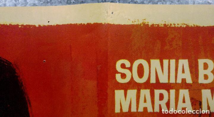 Cine: El juego de la oca. Sonia Bruno, María Massip, José Antonio Amor. AÑO 1966. POSTER ORIGINAL - Foto 3 - 166818654