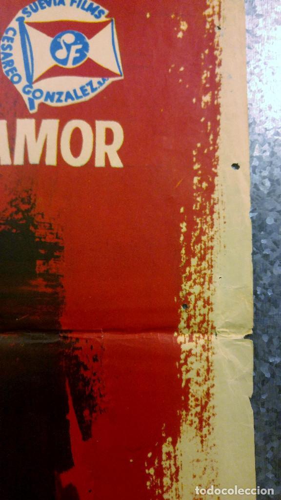 Cine: El juego de la oca. Sonia Bruno, María Massip, José Antonio Amor. AÑO 1966. POSTER ORIGINAL - Foto 5 - 166818654
