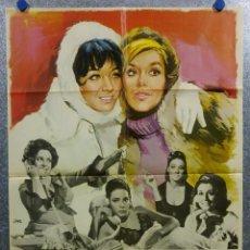Cine: LAS AMIGAS . SONIA BRUNO, TERESA GIMPERA, JULIA GUTIÉRREZ CABA AÑO 1969. POSTER ORIGINAL. Lote 166819470