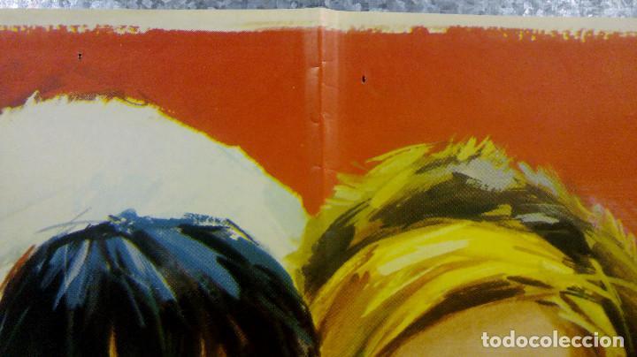 Cine: Las amigas . Sonia Bruno, Teresa Gimpera, Julia Gutiérrez Caba AÑO 1969. POSTER ORIGINAL - Foto 3 - 166819470