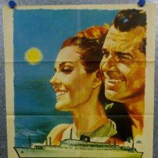 Cine: CRUCERO DE VERANO. CARMEN SEVILLA, GABRIELE FERZETTI AÑO 1964 POSTER ORIGINAL. Lote 166829698