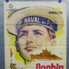 Cine: PACHIN ALMIRANTE. ANGELITO ROBERTO CAMARDIEL. AÑO 1961. POSTER ORIGINAL. Lote 166924540