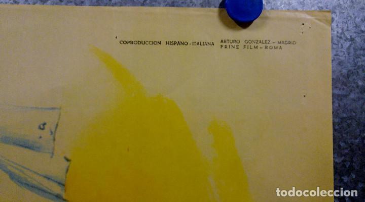Cine: Viaje de novios a la italiana. Tony Russel, Concha Velasco AÑO 1967. POSTER ORIGINAL - Foto 4 - 166928548