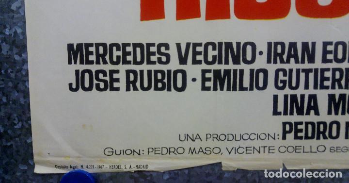 Cine: ¿Qué hacemos con los hijos? Paco Martínez Soria, Mercedes Vecino AÑO 1967. POSTER ORIGINAL - Foto 7 - 166930536
