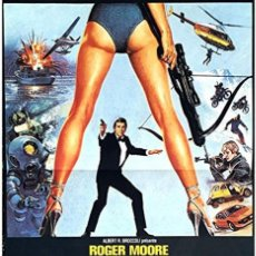 Cine: FOR YOUR EYES ONLY.007 SOLO PARA TUS OJOS.1981.JAMES BOND. ROGER MOORE, CAROLE BOUQUET, TOPOL.. Lote 166945524