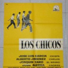 Cine: LOS CHICOS - CARTEL ORIGINAL DE LA PELICULA. Lote 167178960