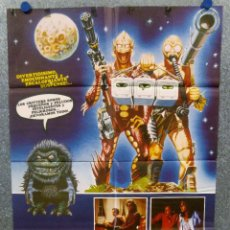 Cine: CRITTERS. SCOTT GRIMES, DEE WALLACE. POSTER ORIGINAL. Lote 167462352