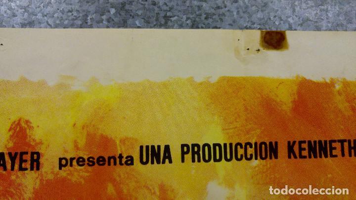 Cine: Doce del patíbulo. Lee Marvin, Charles Bronson, John Cassavetes AÑO 1967. POSTER ORIGINAL - Foto 3 - 167464448
