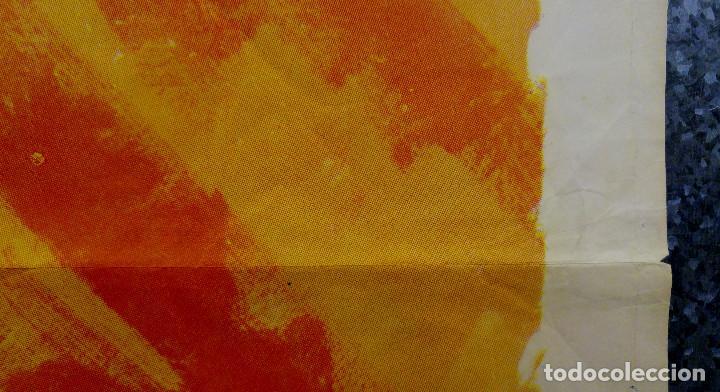 Cine: Doce del patíbulo. Lee Marvin, Charles Bronson, John Cassavetes AÑO 1967. POSTER ORIGINAL - Foto 5 - 167464448