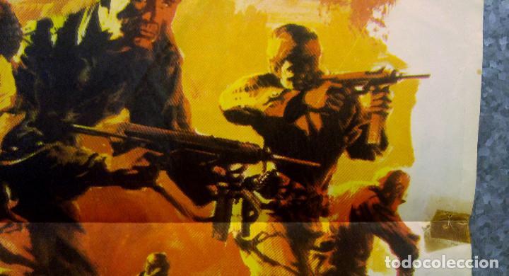 Cine: Doce del patíbulo. Lee Marvin, Charles Bronson, John Cassavetes AÑO 1967. POSTER ORIGINAL - Foto 6 - 167464448