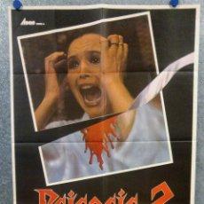 Cine: PSICOSIS 2. LEONARD MANN, RACHAEL WARD, DREW SNYDER. AÑO 1982. POSTER ORIGINAL. Lote 167466296