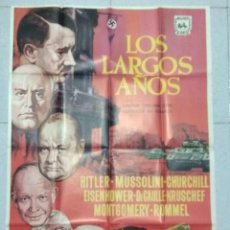 Cine: LOS LARGOS AÑOS - 1966 - CARTEL ORIGINAL. Lote 167515096