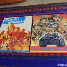 Cine: CARTEL COLGANTE VÍDEO CLUB, DOCE DEL PATÍBULO Y LOS VIOLENTOS DE KELLY. REGALO VHS DE LOS VIOLENTOS.. Lote 167538508